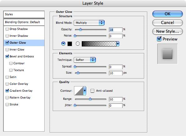 Reflective Metallic Text Screenshot-01