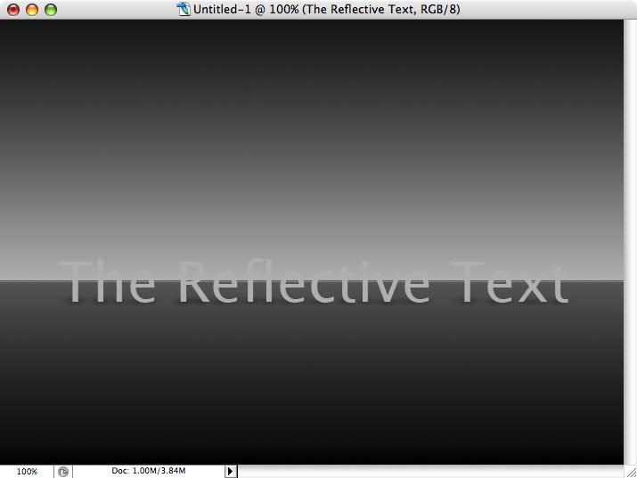 Reflective Metallic Text Screenshot-03