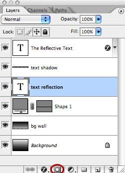Reflective Metallic Text Screenshot-05