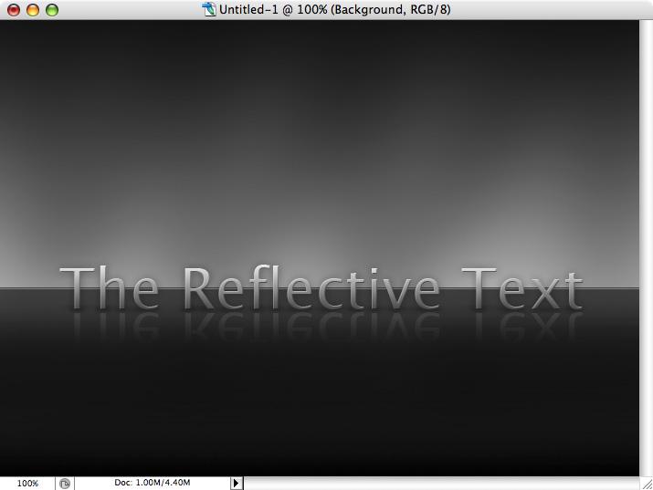 Reflective Metallic Text Screenshot-14