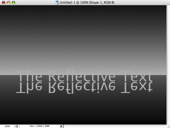 Reflective Metallic Text Screenshot-17