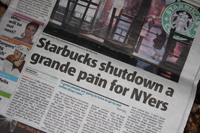 Starbucks Shutdown