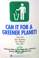 New York MTA - Going Green!