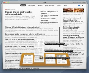 Times - Category & Shelf View