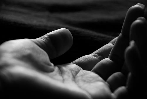Hand, up close