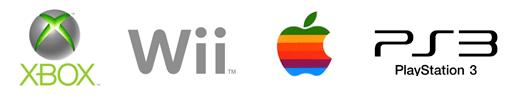 Game Console Logos + Apple