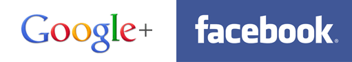 Facebook & Google Plus