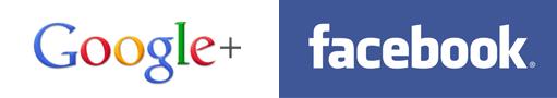 Facebook & Google Plus